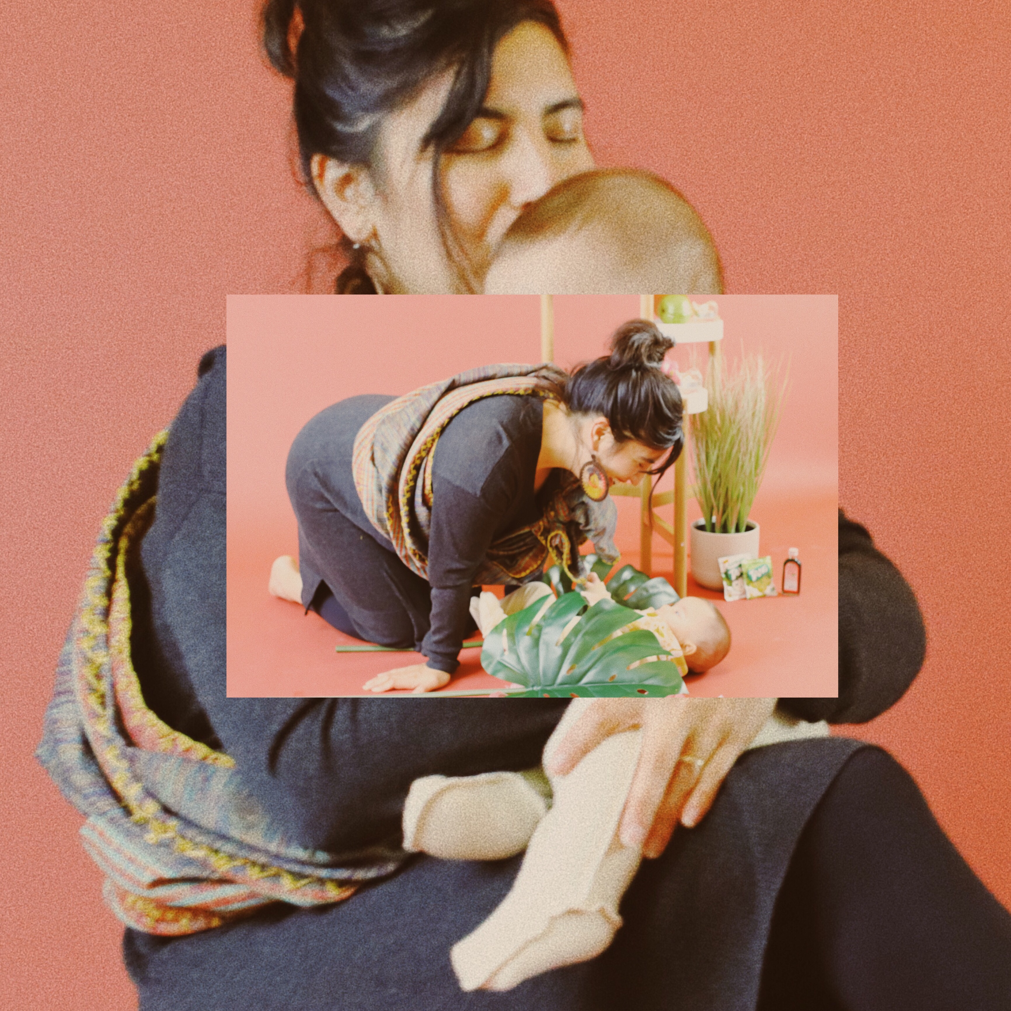 Dalya Perez + baby Amiel