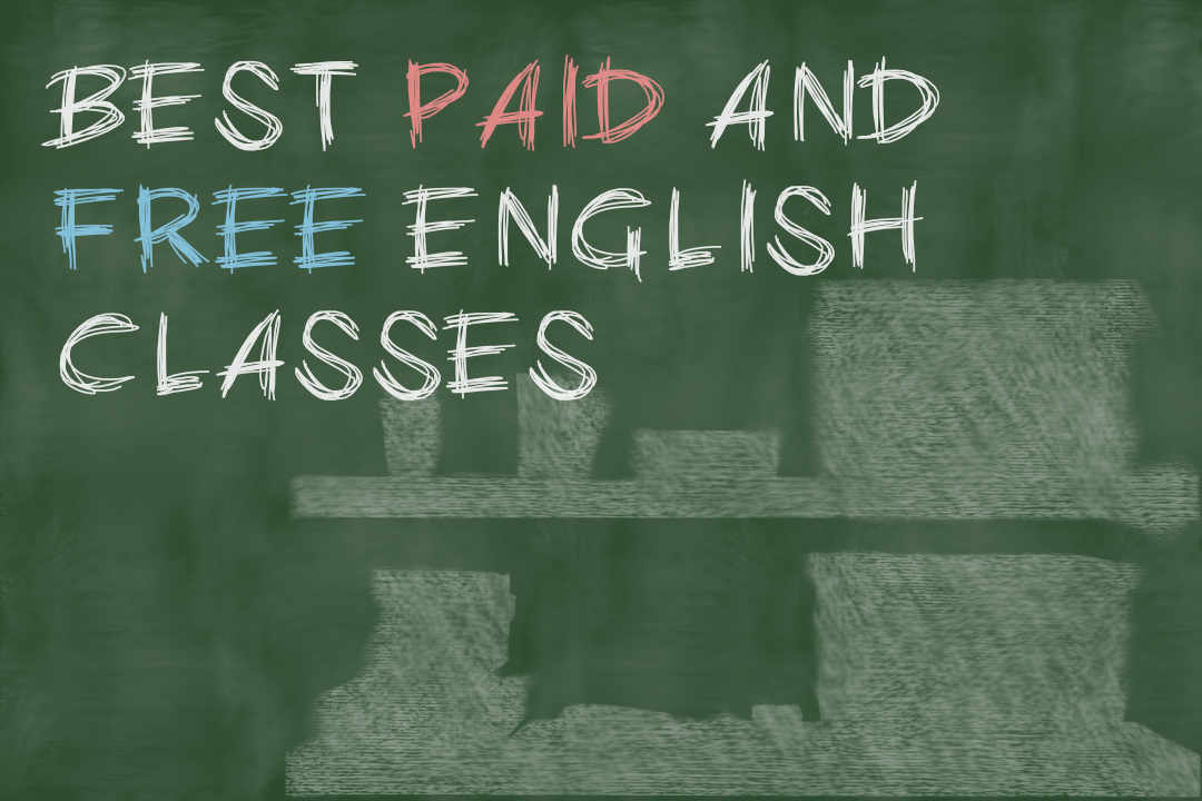 6 best paid and free english classes