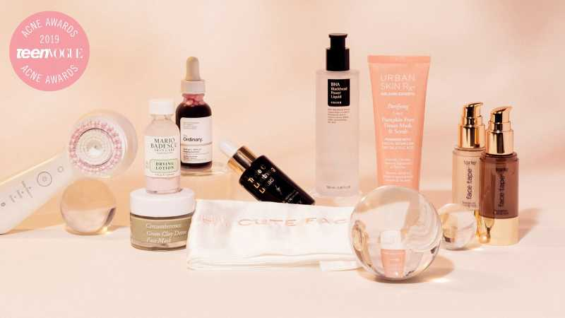 Acne awards teenvogue 2019 weekly roundup bottles | products