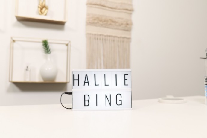 Hallie Bing decoration