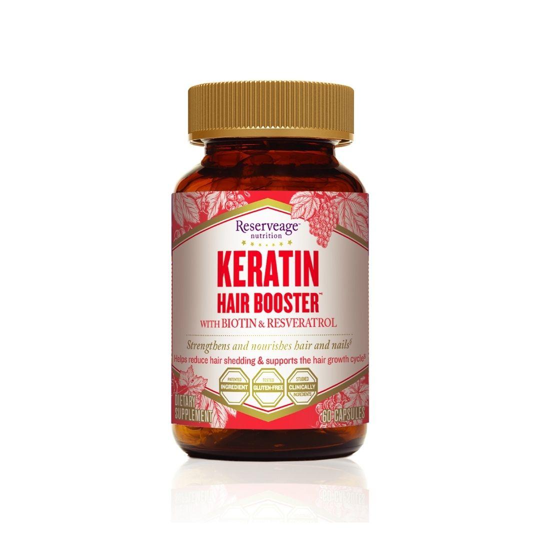 Keratin Hair Booster Bottle