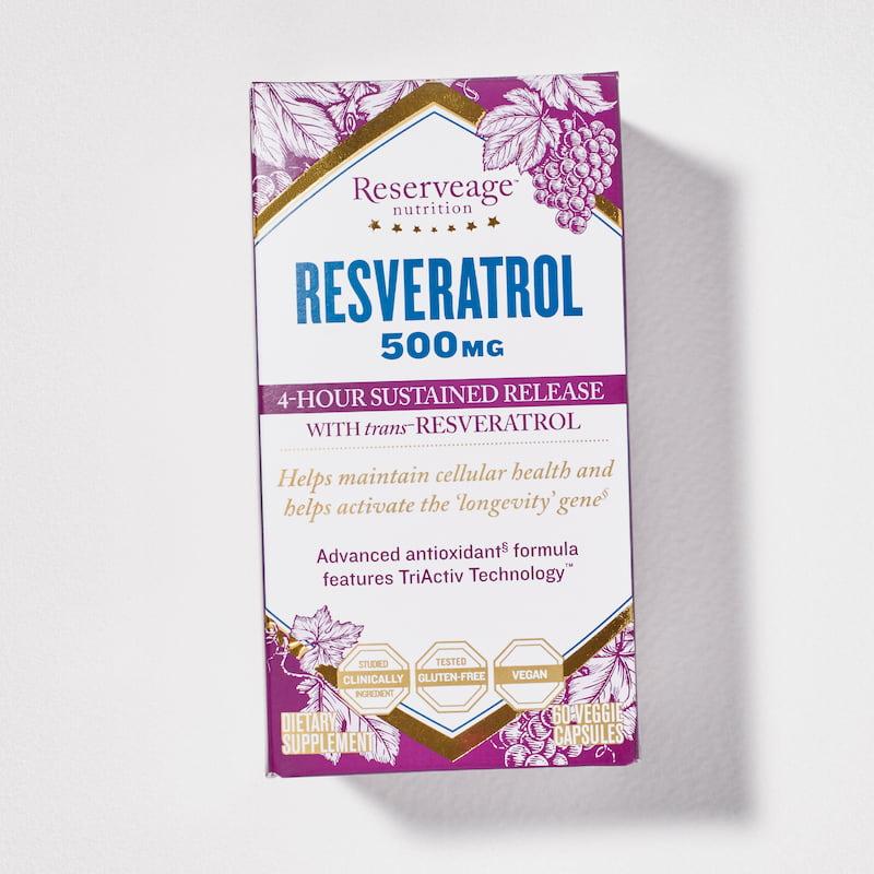 Resveratrol 500mg Box