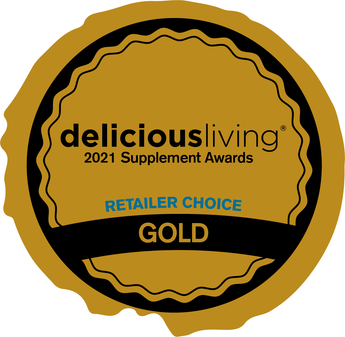 2021 Supplement Awards Gold Award for Retailers Choice