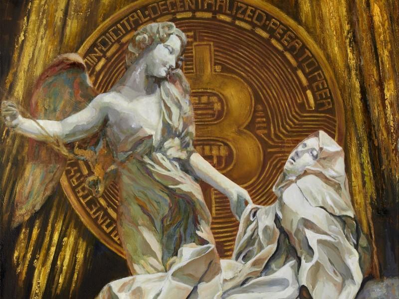 """""""Bitcoin Angel"""" by Trevor Jones"""