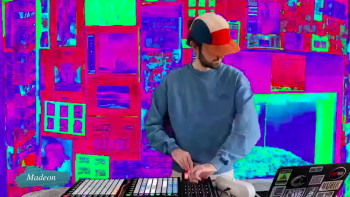 Madeon turned his room into a hallucinogenic wonderland for Porter Robinson's Secret Sky 2020