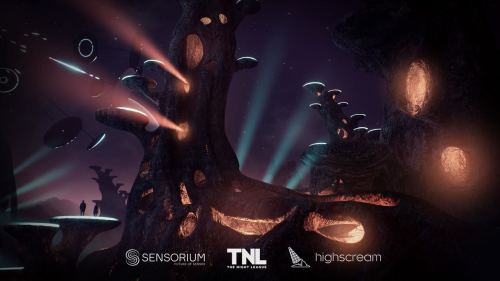 Sensorium creates full-fledged digital worlds to be explored on computers or in VR, complete with interactive merch tables, dance floors and in-game currency.