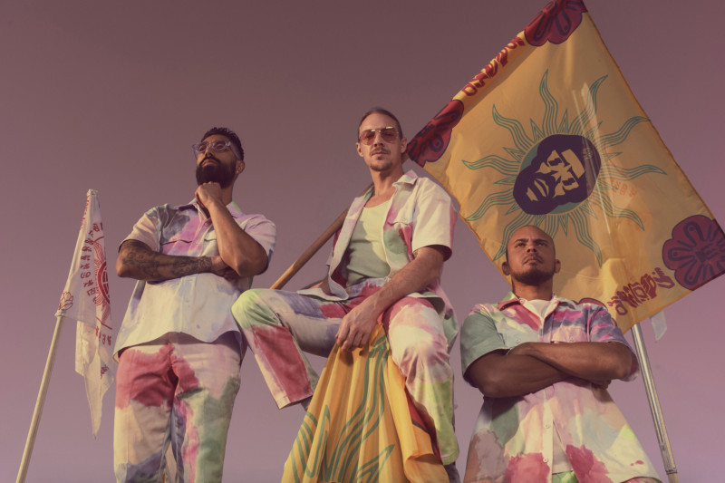 Major Lazer is comprised of Ape Drums, Diplo and DJs Walshy Fire. The trio will perform this weekend for Save Our Stages Music Festival
