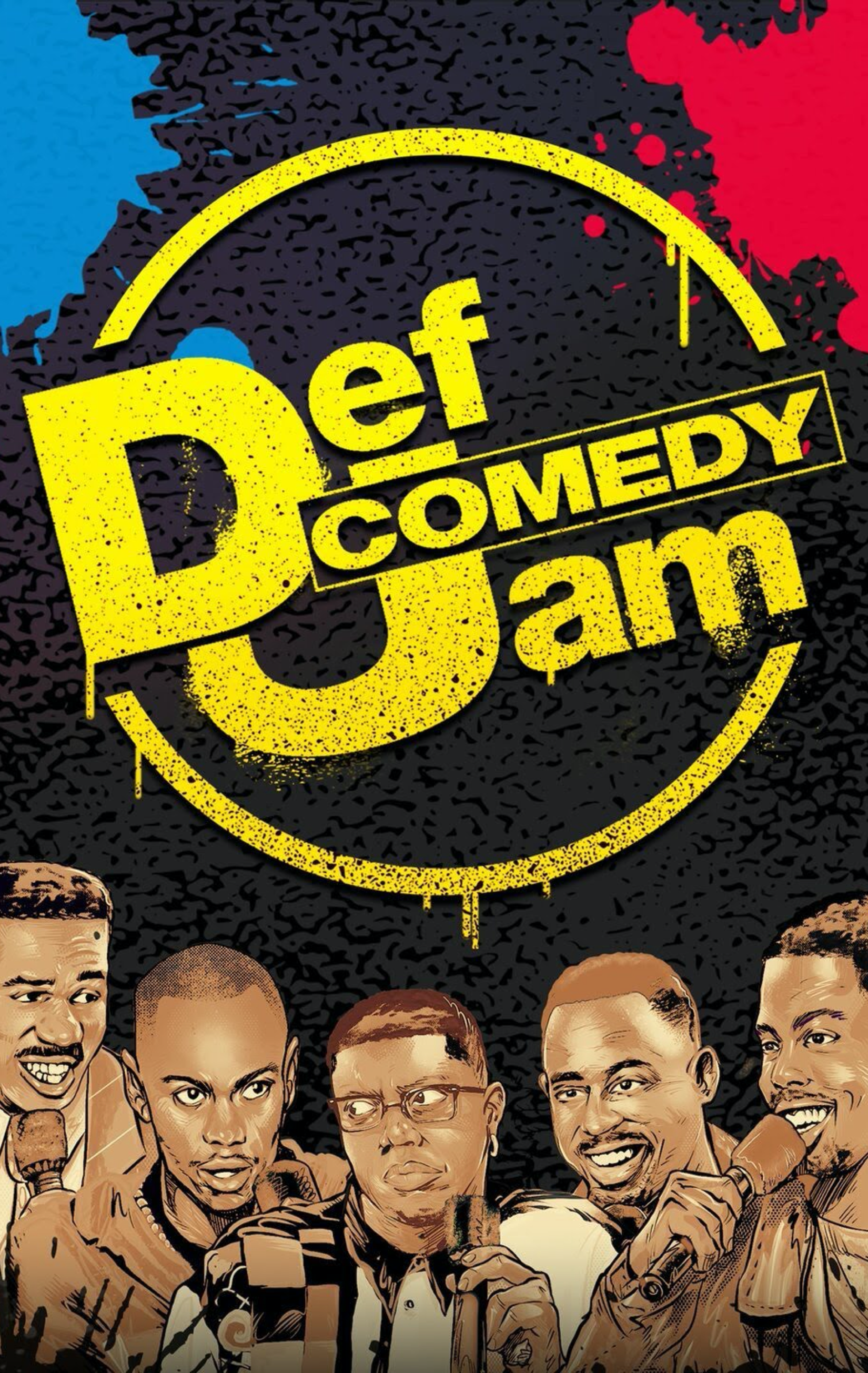 def comedy jam, kings classic russell simmons lol