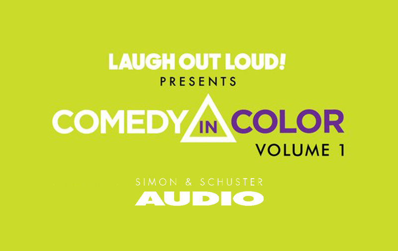 comedy in color, simon and schuster, laugh out presents volume one audiobook