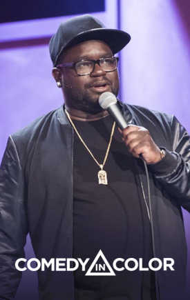 lil rel, zainab johnson, comics, stand up comedy, comedy in color