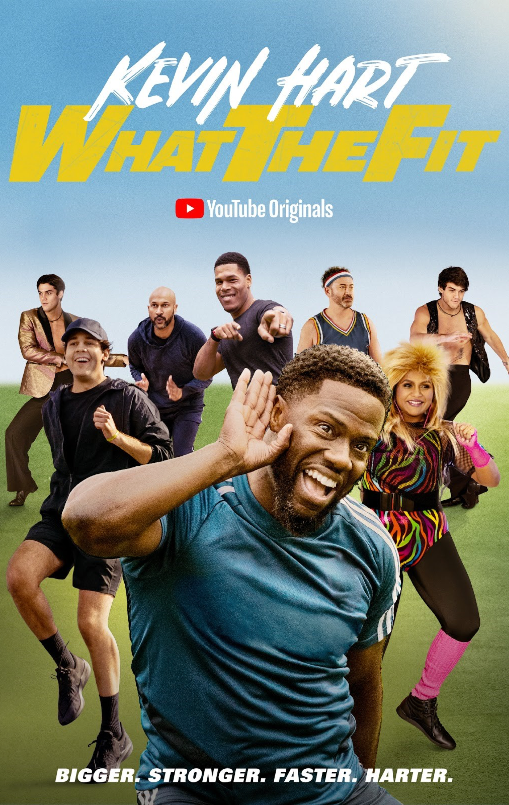 wtf-what-the-fit, kevin hart, celebrity guests, James Corden, Conan O'Brien, Tiffany Haddish, Khloé Kardashian, Leslie Jones, Terry Crews, Gymnastics