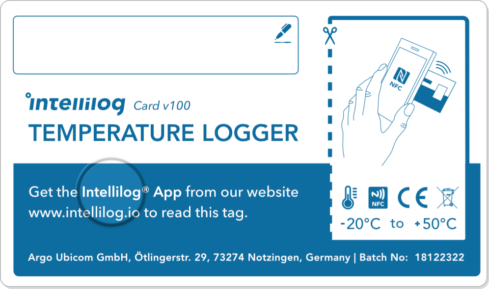 Eine Illustration des Intellilogs V100