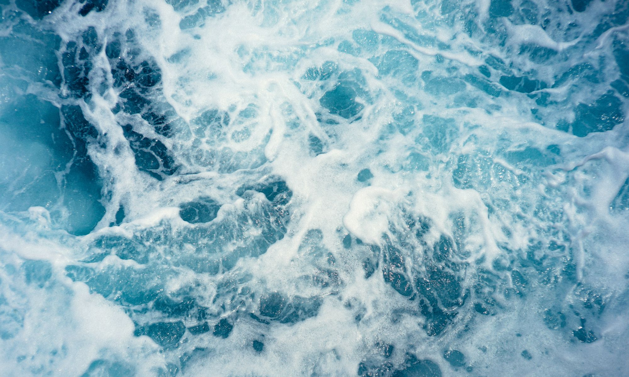 Turbulent waters. Photo credit: Christoffer Engstrom/unsplash