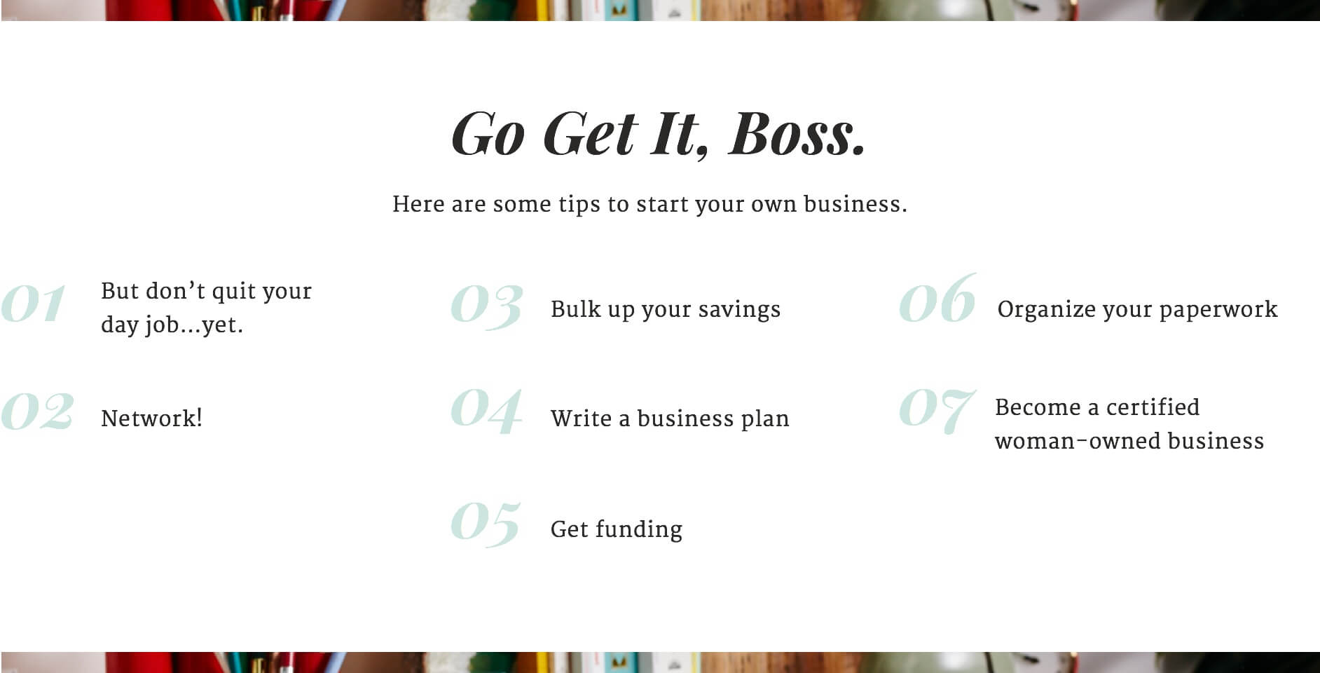 How to Start Your Own Business (desktop)
