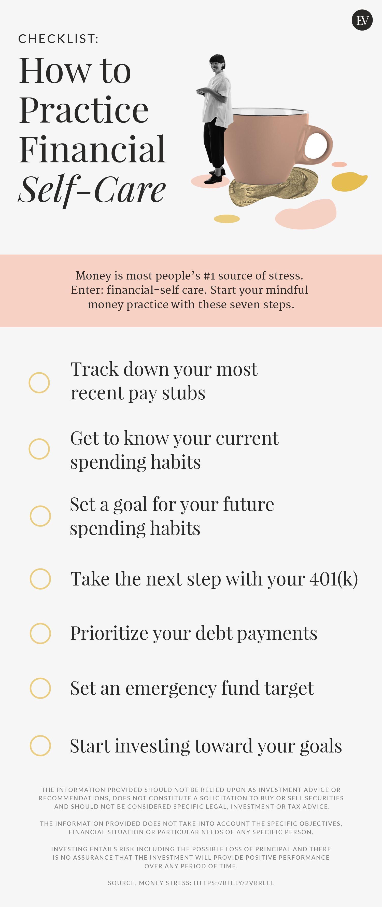 Your Financial Self-Care Checklist