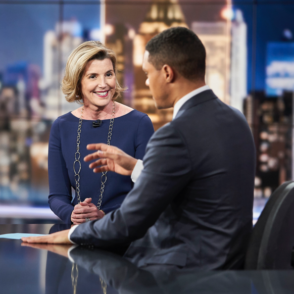 Sallie Krawcheck on The Daily Show: Bulls, Beers, Bees, and Bias