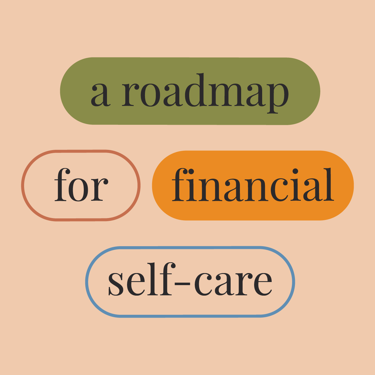 A road-map for financial self-care