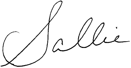 Sallie signature