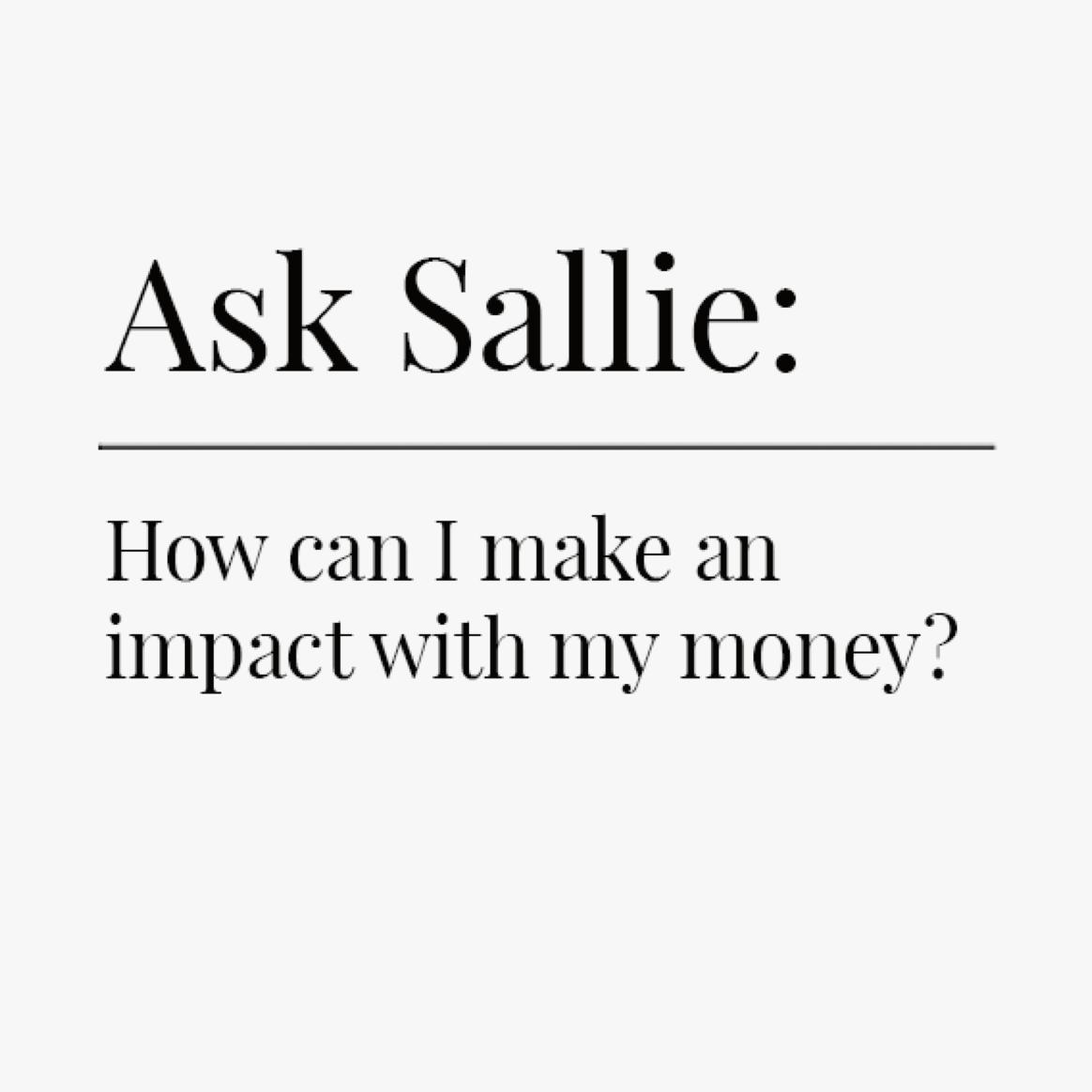 Impact Investing | Ellevest