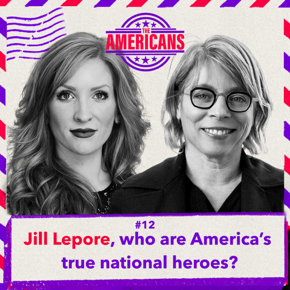 Photo of Chelsea Spieker and Jill Lepore