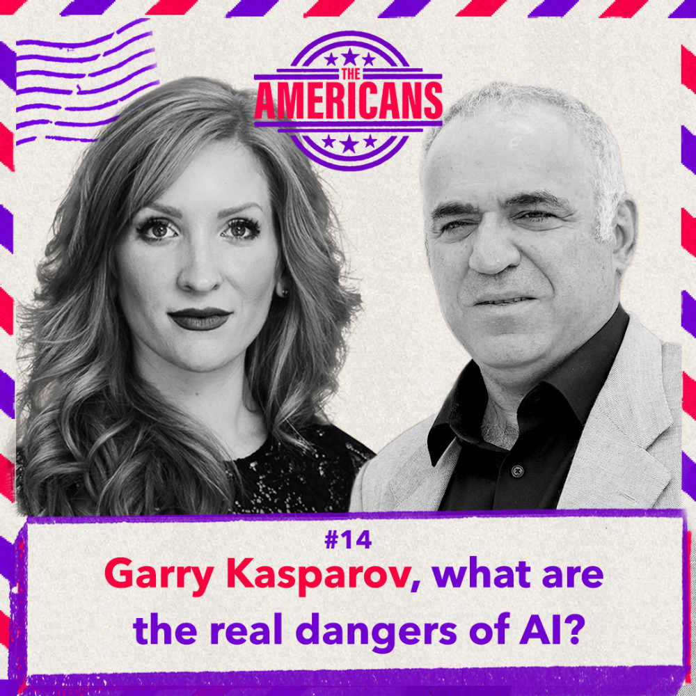 Photo of Chelsea Spieker and Garry Kasparov