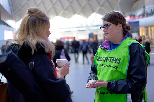 support samaritans in other ways