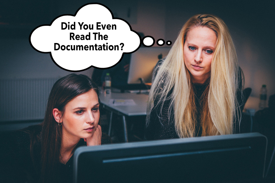 women-Did you read documentation