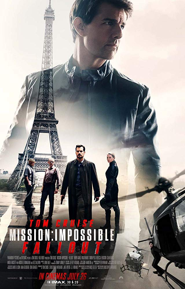 Mission: Impossible - Fallout Movie Cover