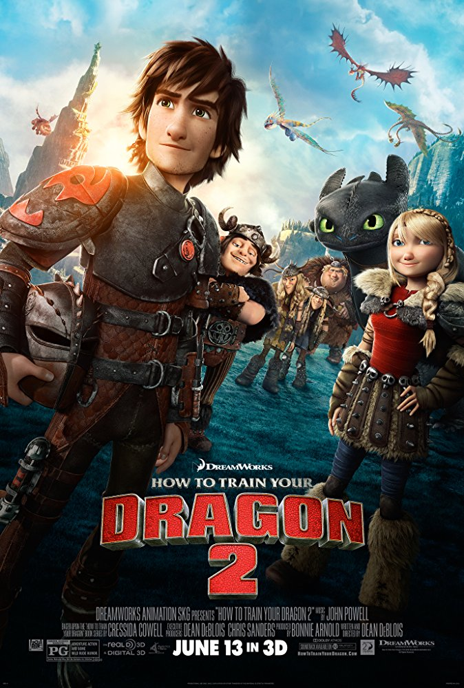 How to Train Your Dragon 2 Movie Cover