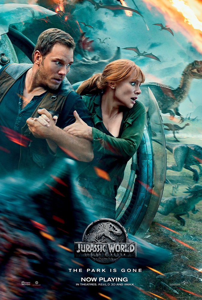 Jurassic World: Fallen Kingdom Movie Cover