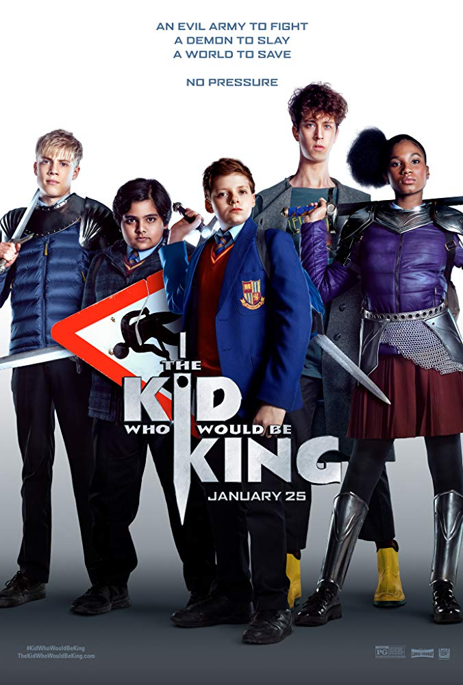 Kid Who Would Be King, The Movie Cover