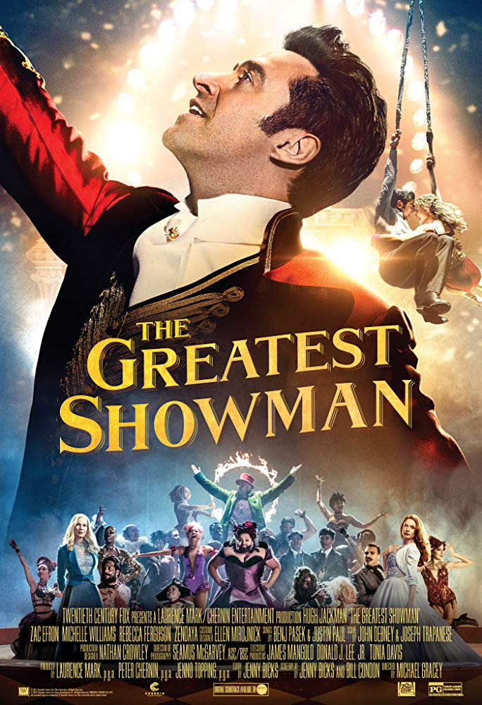 Greatest Showman, The Movie Cover