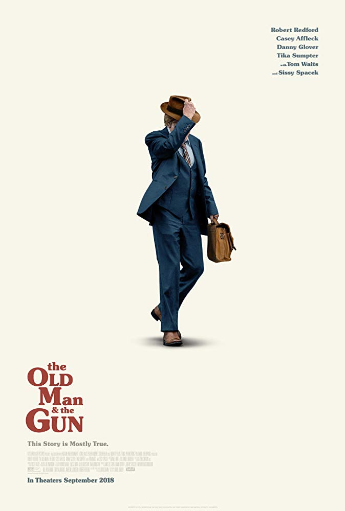 Old Man & the Gun, The Movie Cover