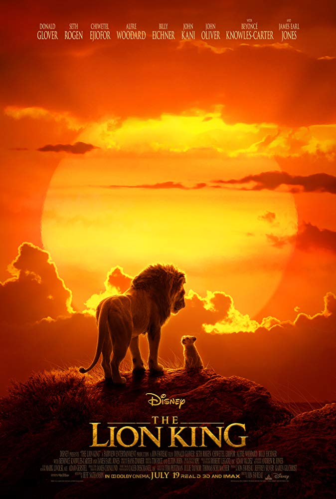 Lion King, The (2019) Movie Cover