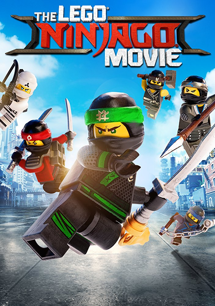 LEGO Ninjago Movie, The Movie Cover