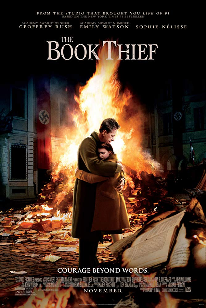 Book Thief, The Movie Cover