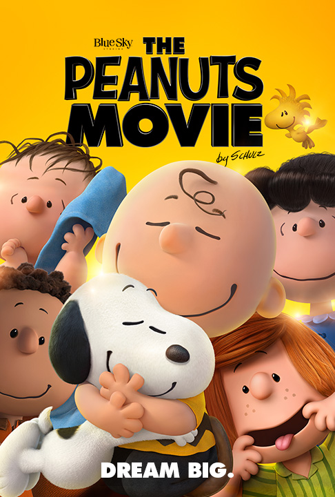 Peanuts Movie, The Movie Cover