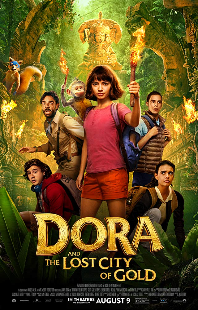 Dora and the Lost City of Gold Movie Cover