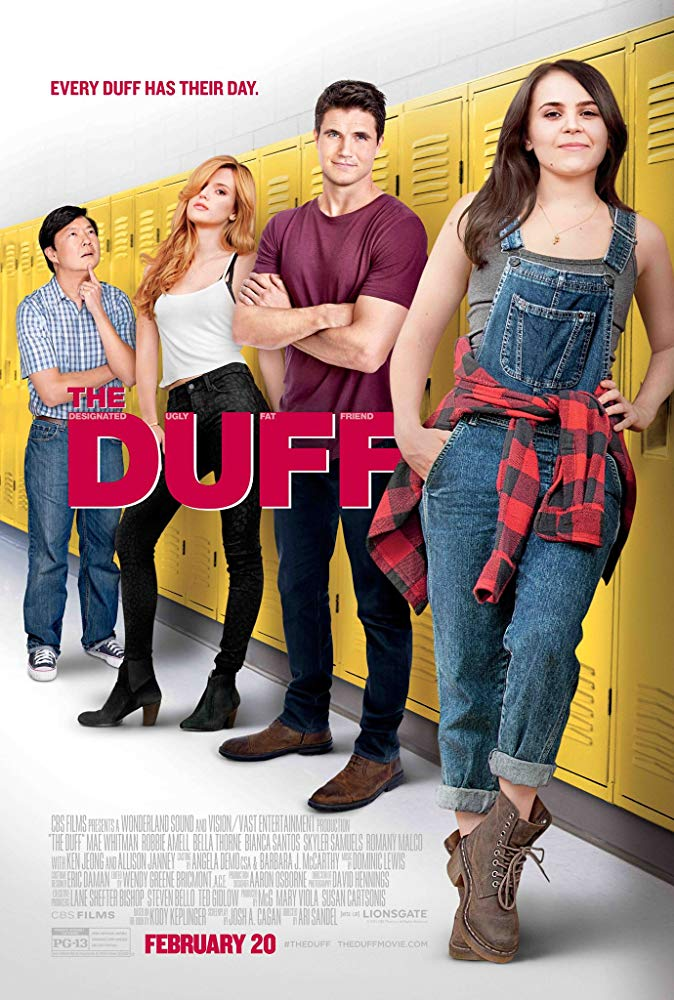 DUFF, The Movie Cover