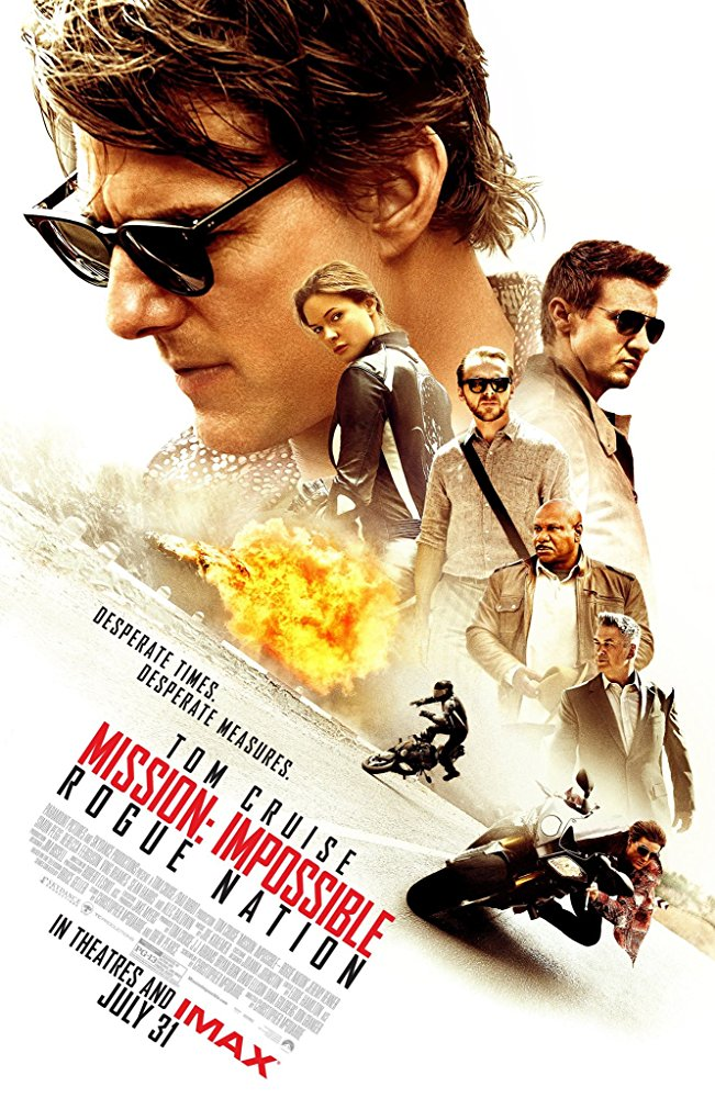 Mission: Impossible Rogue Nation Movie Cover