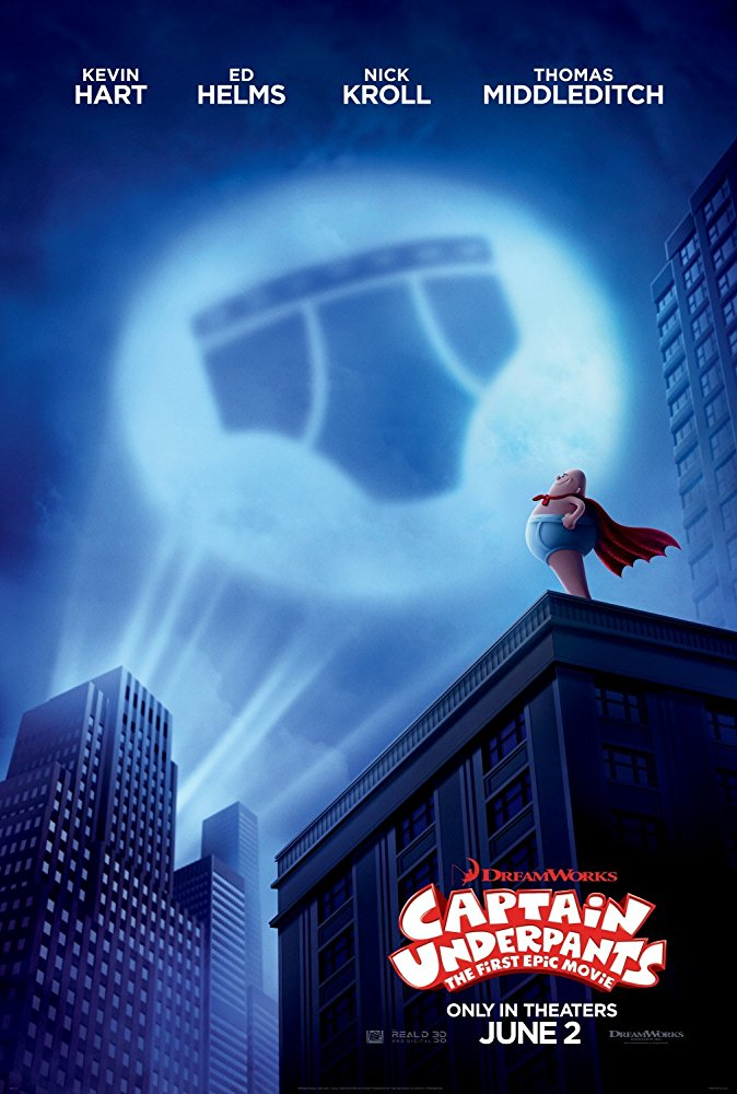 Captain Underpants Movie Cover