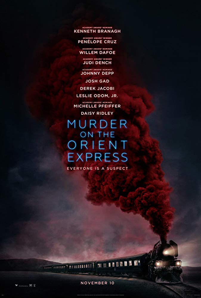 Murder on the Orient Express Movie Cover