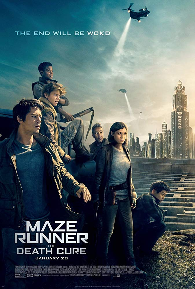 Maze Runner: The Death Cure Movie Cover