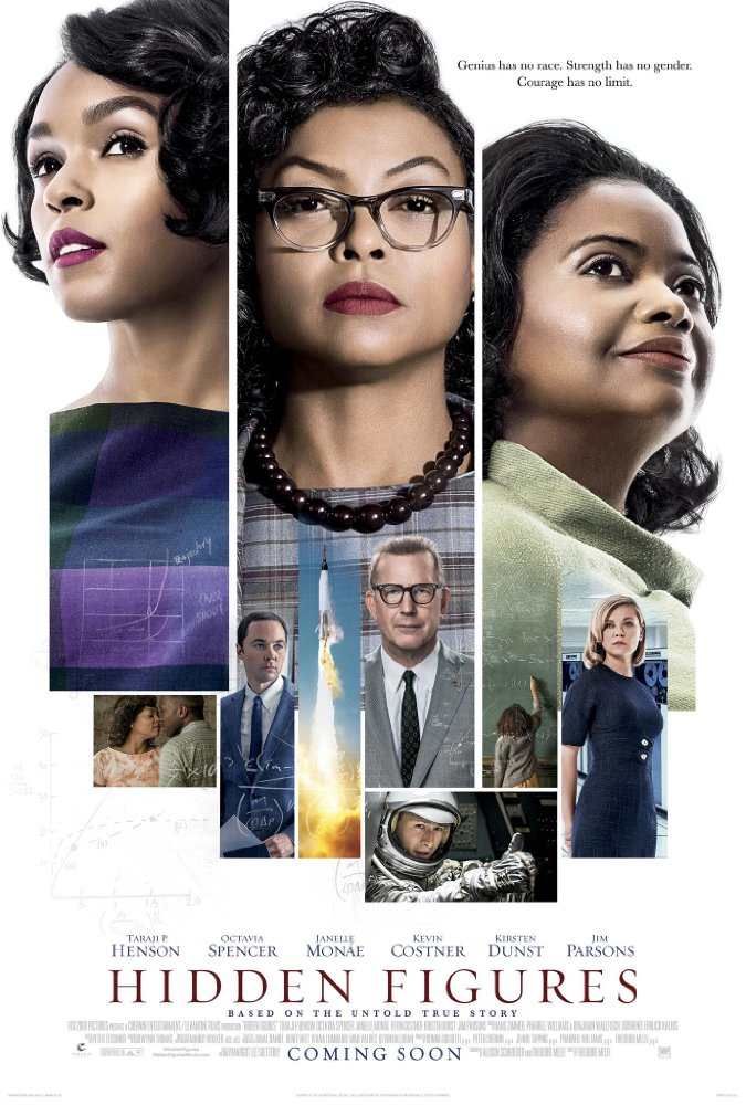 Hidden Figures Movie Cover