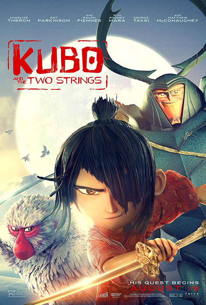 Kubo and the Two Strings Movie Cover