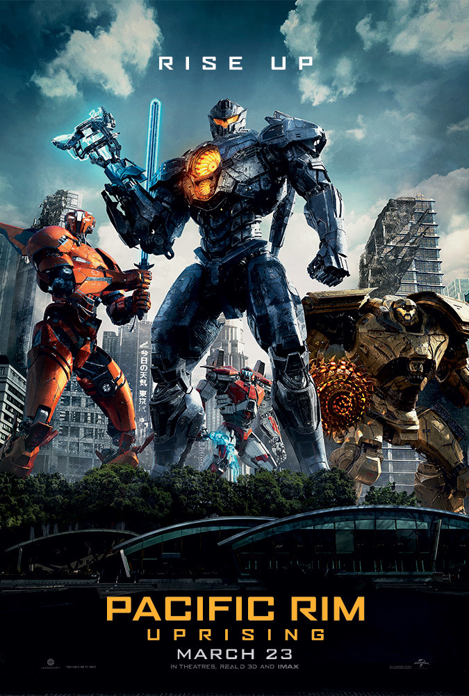 Pacific Rim Uprising Movie Cover