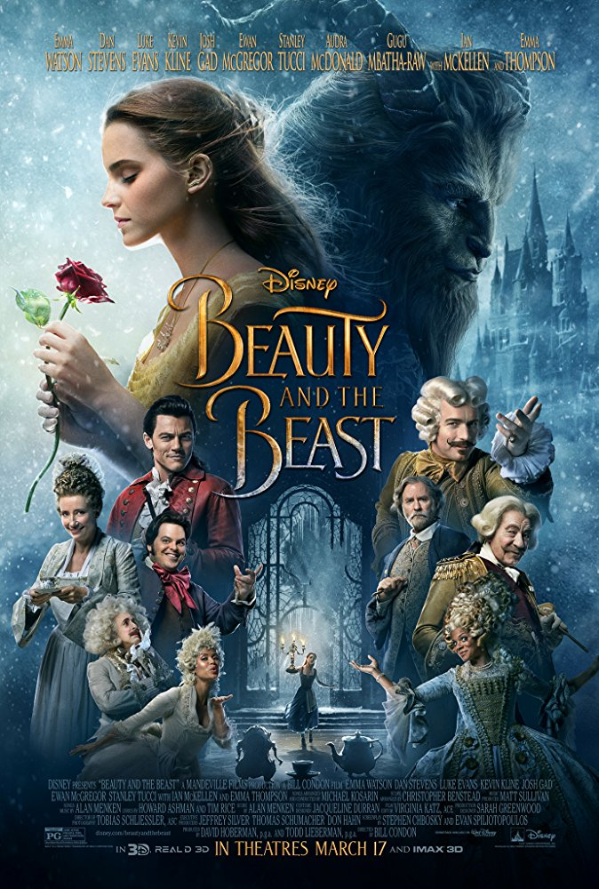 Beauty and the Beast (2017) Movie Cover