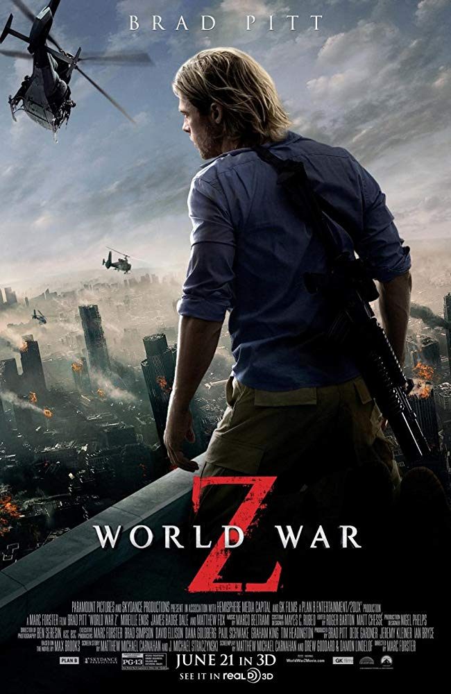 World War Z Movie Cover