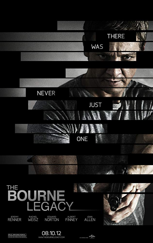 Bourne Legacy, The Movie Cover