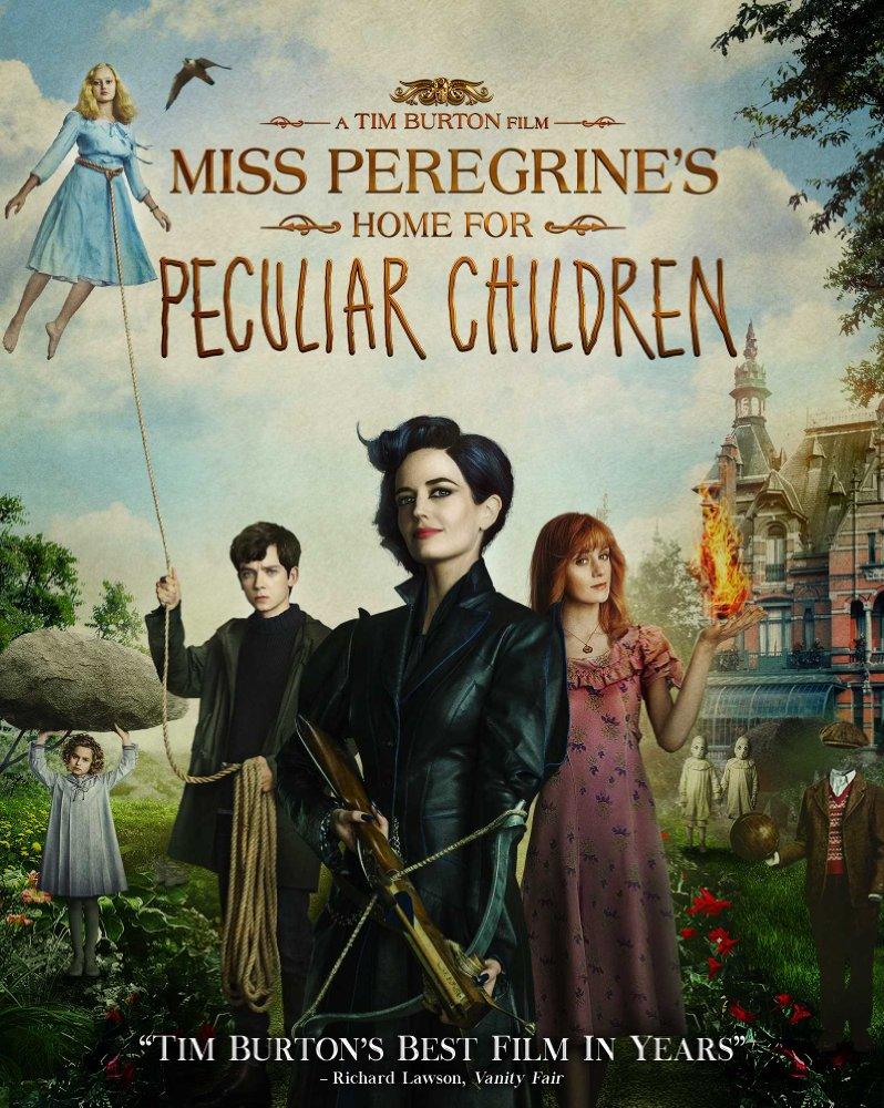 Miss Peregrine's Home for Peculiar Children Movie Cover